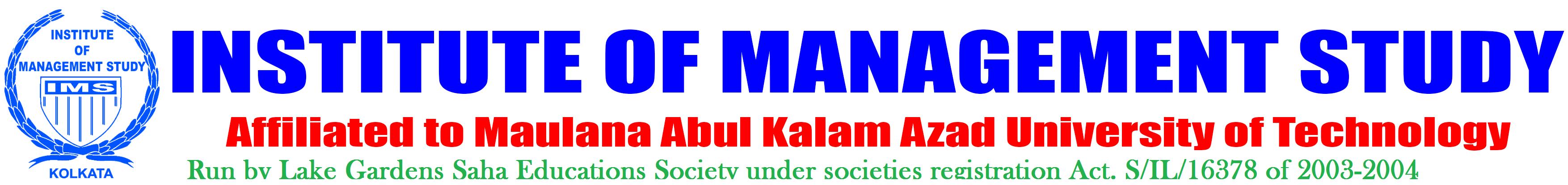 Institute of Management Study